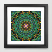'Eye of the Star' is available as a framed art print through Society6