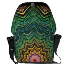 'Eye of the Star' is available as a messenger bag through Zazzle