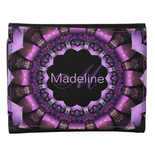 'Fairy Flower' is available as a personalized wallet through Zazzle.