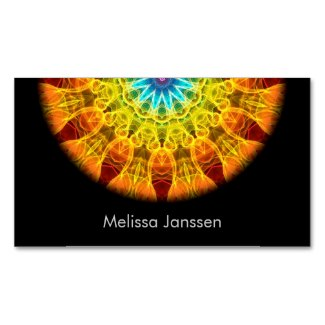 'Flower Bouquet' is available as a business card through Zazzle