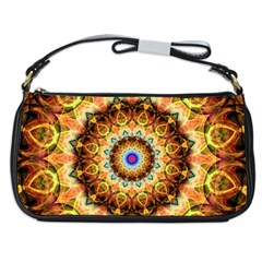 'Ochre Burnt Glass' is available as a evening bag through Zazzle.