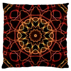 'Yellow & Red Magic' is available as a pillow through ZandiepantsGiftShop.