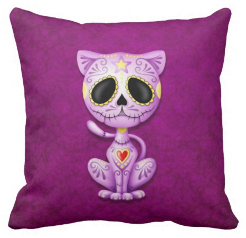 Purple Sugar Zombie Kitten