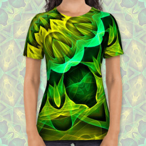 Blooming Forest Guardians, mandala - T-Shirt