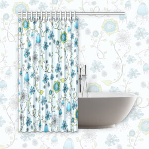 blue-flowers-shower-curtain